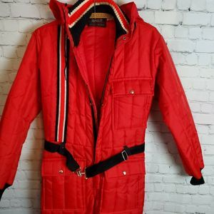 Other - Vintage Daco Men's Goldberg Snow Mobile Suit Red